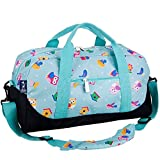 Wildkin Overnighter Duffel Bag, Features Moisture-Resistant Lining and Padded Shoulder Strap, Perfect for Sleepovers, Sports Practice, and Travel, Olive Kids Designs – Birdie For Sale