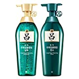 [Ryeo] NEW Chung Ah Mo Shampoo 500ml for Oily Hair with Dandruff + Conditioner 500ml