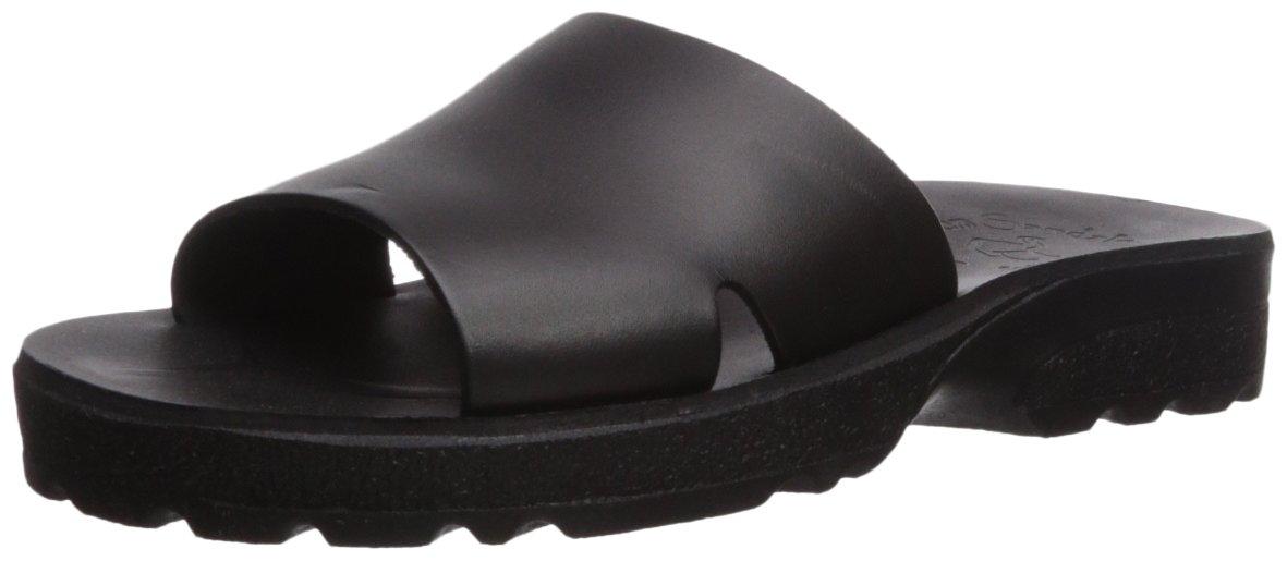 Jerusalem Sandals Women's Bashan Molded Footbed Slide Sandal B075KN8D5K 37 Medium EU (6-6.5 US)|Black