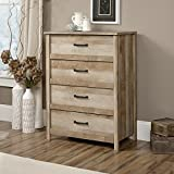 Sauder Cannery Bridge 4-Drawer Chest Lintel Oak