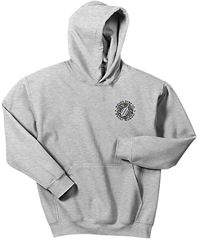 Koloa Hawaiian Turtle Logo Hoodies-Hooded Sweatshirt-Ash/b-XL ()