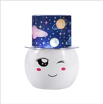 JonLon Star Proyector Luz nocturna, Rotación Estrella Noche ...