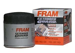 Fram XG4967 Extended Guard Passenger Car Spin-On Oil Filter (Pack of 2)