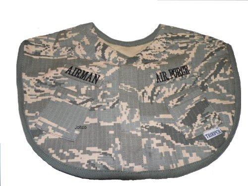 Trooper Clothing Infant Boy's ABU Air Force Bib (Camo) ()