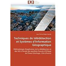 TECHNIQUES DE TELEDETECTION ET  SYSTEMES D  I