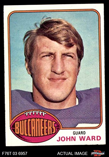 1976 Topps # 268 John Ward Tampa Bay Buccaneers (Football Card) Dean's Cards 4 - VG/EX Buccaneers