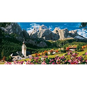 Clementoni Sellagruppe Dolomiti High Quality Collection Puzzle 13200 Pezzi 38007