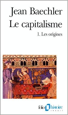 Capitalisme Les origines)
