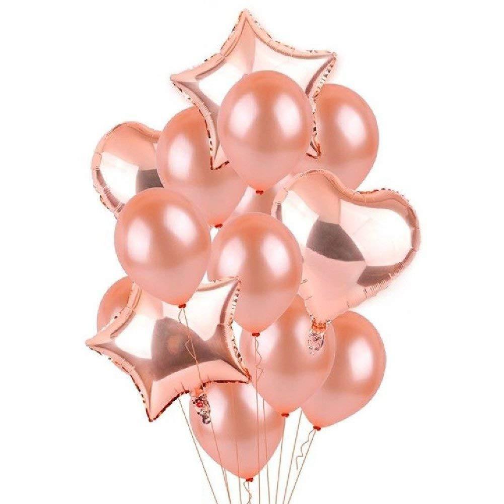 Globos de fiesta de cumpleaños decorativos, juego de ...