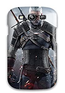 Shauna Leitner Edwards's Shop Flexible Tpu Back Case Cover For Galaxy S3 - Geralt Of Rivia In The Witcher 3 Wild Hunt 5430078K99177111
