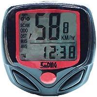 Romote LCD vélo Cycle Ordinateur de vélo Compteur kilométrique Compteur de Vitesse