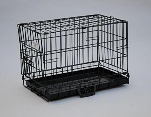 Bestpet 20  Black Dog Crate Cat Cage Kennel Dog House Metal Pan