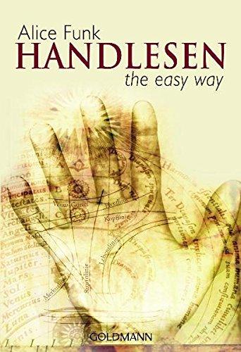 Handlesen: the easy way Taschenbuch – 7. September 2009 Alice Funk Goldmann Verlag 3442218810 Tarot