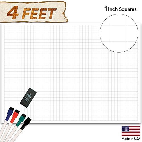 Battle Grid Game Mat - 48