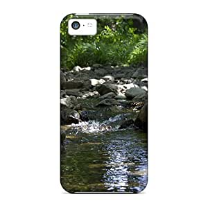 LJF phone case Durable Belgium River Back Case/cover For iphone 5/5s