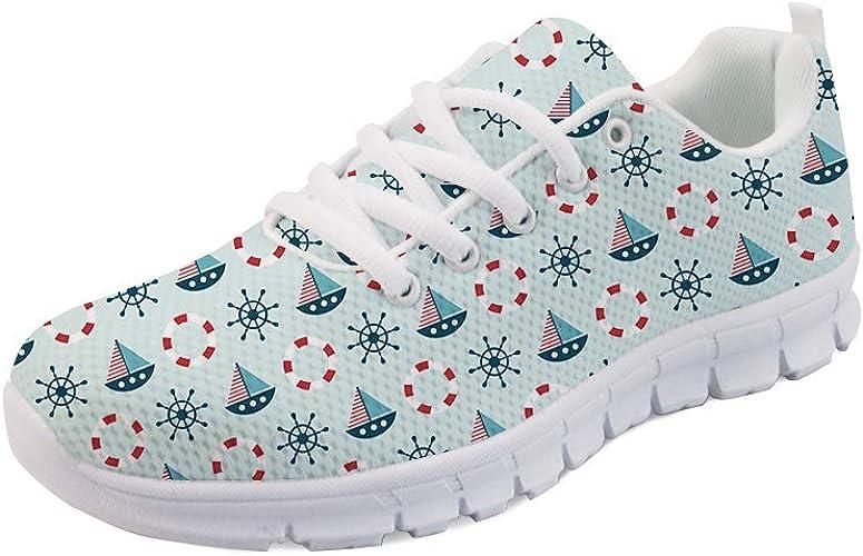 Woisttop Zapatillas de Running para Mujer Zapatillas de Deporte ...