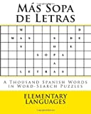 Más Sopa de Letras, Elementary Languages, 1496187687