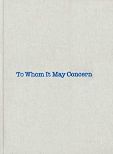 Louise Bourgeois & Gary Indiana: To Whom It May Concern by Gary Indiana (2011-10-31) by Violette Editions