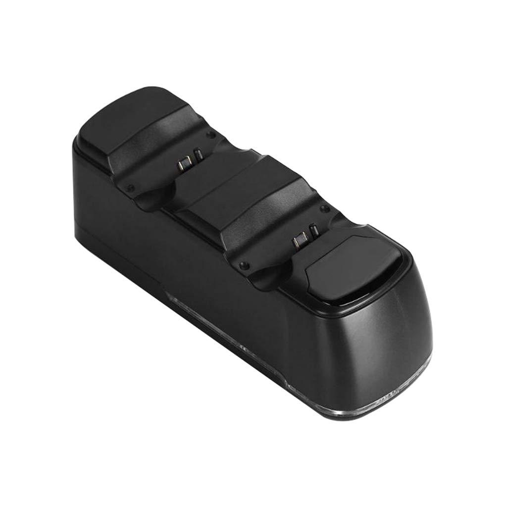 Lorsoul Di Ricambio per Dual Port PS4 PS4 USB Gamepad Controller PRO Bacino del Caricatore della Culla della Stazione Display a LED PS4 Slim