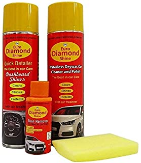 Euro Gold Car Care Cleaning Kit With Cleaning Foam Combo Set Of 3