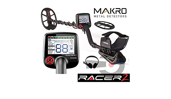 Makro Racer II 2 metal detector metaldetector 5 posiciones placa Auriculares Nuevo: Amazon.es: Deportes y aire libre