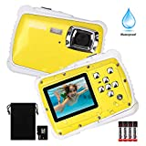 Waterproof Camera for Kids, DECOMEN Underwater Digital Camera for Kids, Sport Action Camcorder