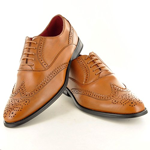 My Perfect Pair - Zapato para hombre de color negro de talla uk tamaño 10 /eu tamaño 44 Brown bruñida