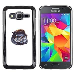 Stuss Case / Funda Carcasa protectora - Cute Funny Swag del búho - Samsung Galaxy Core Prime