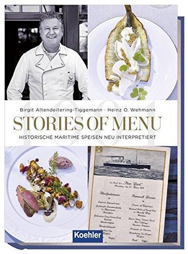 Stories of menu - Historische maritime Speisen neu interpretiert