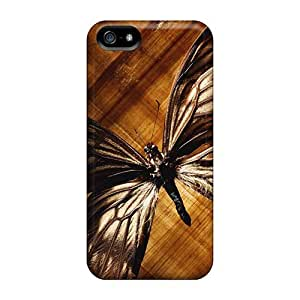 New Design Shatterproof SqU1037LvKh Case For Iphone 5/5s (butterfly Wallpaper)
