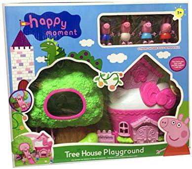 Peppa Pig Family Tree House Villa Set Toys Kids Gift Dolls Amazon Com