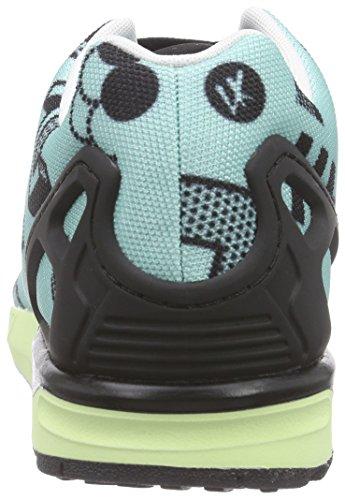 adidas ZX Flux - Zapatillas para hombre Turquesa (clear aqua/core black/ftwr white)