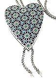 Brighton Amal Long Heart Swarovksi Crystal Necklace