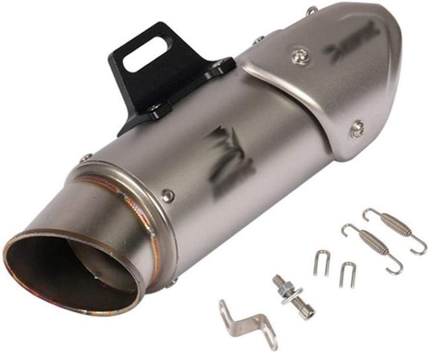 Color : 1 SC Laser /Évasion 51mm Moto Scooter Universel for Tuyau d/échappement Carbone Faux SC Motorcross Silencieux PCX 125 msx125 BWS 125 155 Aerox