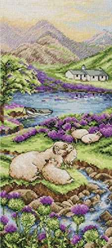 Highlands Landscape Cross Stitch Kit