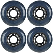 72mm 83a Outdoor Formula Inline Rollerblade Replacement Wheels x4