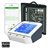 Blood Pressure Monitor with Extra Large Cuff - Premium Technology: Double Pulse Detection - Lightning fast (30-40 sec) and Highly Accurate - iProvèn BPM-2244BT - Free Mobile App