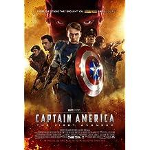 Captain America: The First Avenger Poster Movie F 11 x 17 Inches - 28cm x 44cm Chris Evans Hugo Weaving Stanley Tucci Tommy Lee Jones Richard Armitage Dominic Cooper Toby Jones
