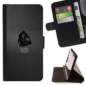 Momo Phone Case / Flip Funda de Cuero Case Cover - La nuestra es la Furia - Palpatine - HTC One A9