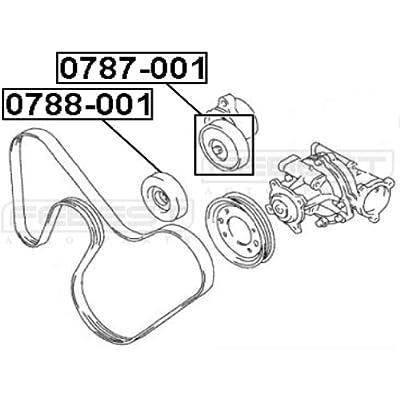 17540770 - Pulley Idler For Suzuki - Febest: Automotive