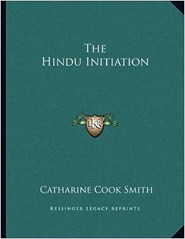 Book The Hindu Initiation