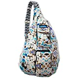 ku gear - KAVU Women's Rope Bag, Midnight Floral, One Size