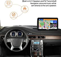 GPS Navigation for Car,7-inch 8GB HD GPS Navigator,Voice Traffic Warning, Driving Alarm, with Sunshade& Lifetime Free Update Map