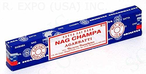 The Original Satya Sai Baba Nag Champa Incense (15 gram box)