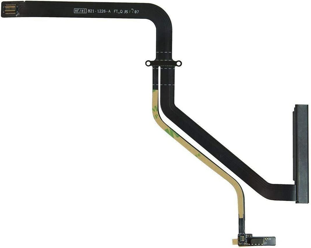 Whizzotech HDD Hard Drive Flex Cable 821-1226-A Replacement for MacBook Pro A1278 13'' Unibody 2011 922-9771 W2131
