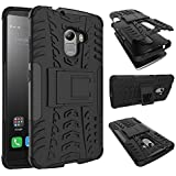 CEDO® Premium Hybrid Military Grade Armor Kickstand Back Cover Case for Lenovo Vibe K4 Note - Black