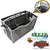 Dishwasher-Silverware-Basket-Universal--Clean-Dirty-Magnet-Sign--UtensilCutlery-Holder-Replacement--Fits-Bosch