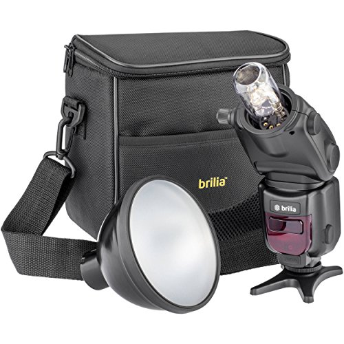 Brilia BB-110N Bare-Bulb TTL Flash for Nikon Cameras
