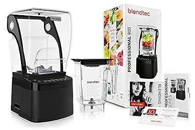 Blendtec Pro 800 with WildSide Jar, Black
