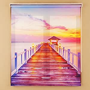 Festaprint Fabric Printed Picture Photo Roller Blind Shade